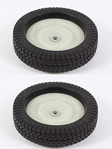 Agri-Fab 2 Pack Genuine 44985 Wheel & Tire ASM Fits Lawn Sweeper Craftsman
