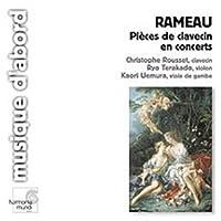 Rameau: Pieces de clavecin en concerts /Terakado ・ Uemura ・ Rousset (2003-01-07)