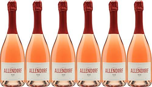 Allendorf Pinot Rosé Sekt Brut (herb) (6 x 0.75 l)