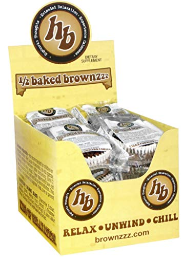 1/2 Baked Brownzzz 12 Count Display Box (2 oz.)