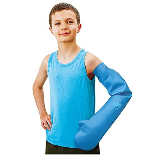 Bloccs – Langer wasserdichter Armprotektor für Gipsverbände - #CFA73-M - Kinder (M)
