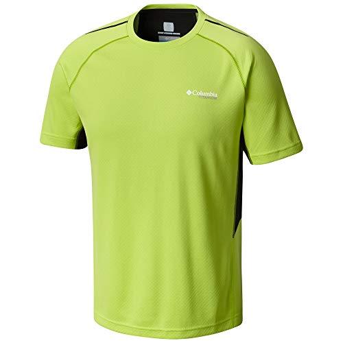 Columbia Titan Trail Short Sleeve Shirt Mens FissionBlack XXL