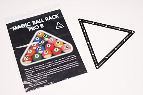 Magic Ball Rack Pro 8 Pool Billard Dreieck Aufbauschablone