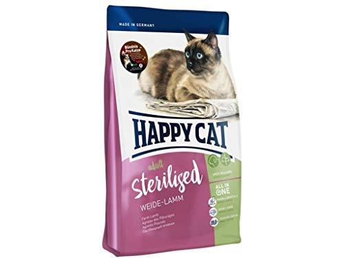 Happy Cat Supreme Sterilised Weide-Lamm, 4 kg