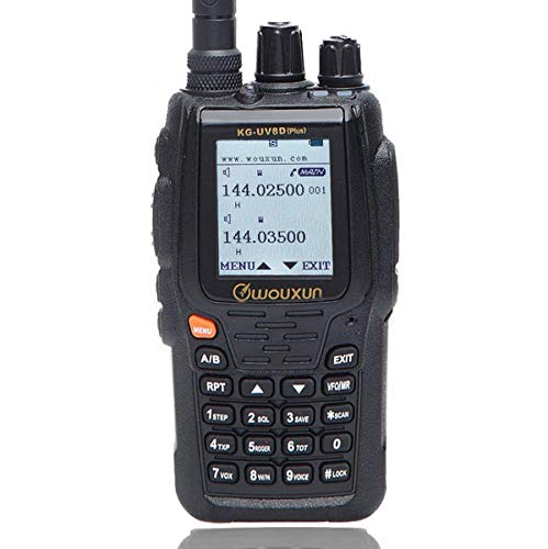 Wouxun KG-UV8D Plus Cross Band Repeater Duplex Work Mode Dual Receiving VFH UHF Dual Band 999 Memory Channels Voice Encryption Two Way Radio