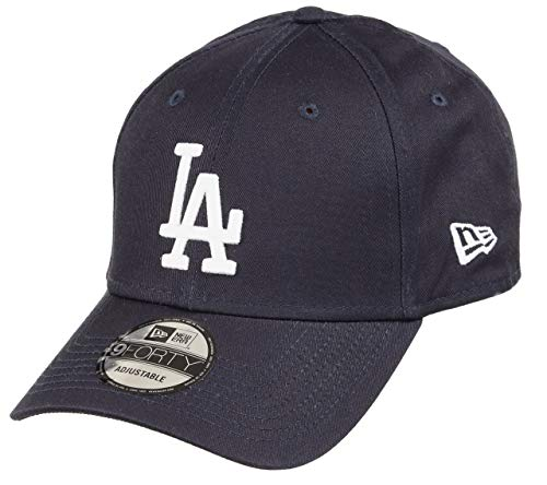 New Era Los Angeles Dodgers 9forty Adjustable Cap MLB Rear Logo Navy/White - One-Size