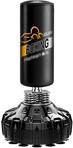 Sooiy Boxsack für Erwachsene Boxen Boxsack Boxsack Taekwondo Trainer (Farbe: Schwarz, Größe: 65 * 175cm)