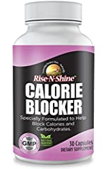 Rise-N-Shine's Calorie Blocker is carb blocker formulated with natural herbs and Vitamin C to help break down fats, calories and carbohydrates. Carb Blocker Pills with Chitosan, Gymnema Sylvestre and Garcinia Cambogia team up with Vitamin C to help b...