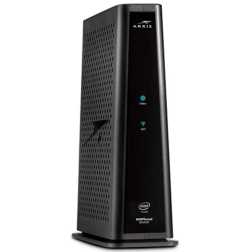 ARRIS Surfboard SBG8300-RB DOCSIS 3.1 Gigabit Cable Modem & AC2350 Dual Band Wi-Fi Router, Approved for Cox, Spectrum, Xfinity & Others (RENEWED)