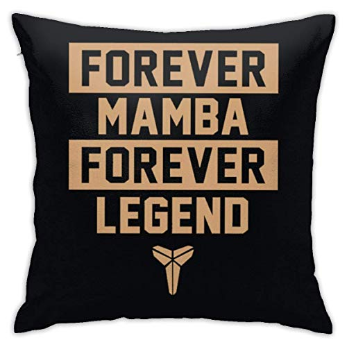 AOOEDM 2020 Kobe-Bryant Number 24 Throw Pillowcase Pillow Cover 18x18 Inches