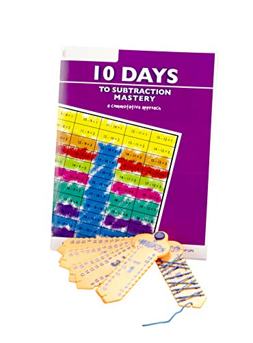10 Days to Subtraction Mastery Student Workbook with Learning Wrap-Up Set