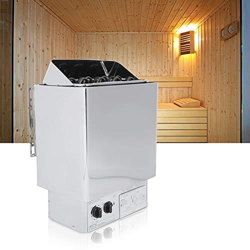 XiangXin Saunaofen Trockendampfbadofen, 6KW Edelstahl Interne Steuerung Saunaofenheizung für Füße Home Hotel Spa Dusche Dampfbad Badezimmerausstattung