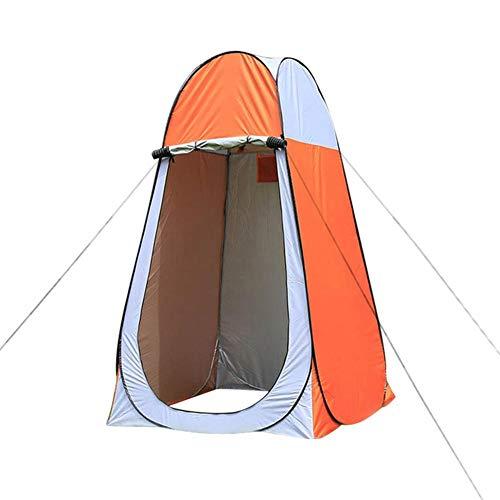 Luminiu Pop up Duschzelt, Umkleidezelt, Toilettenzelt, Wurfzelte, Camping Outdoor Sekunden Pop up Duschzelt Umkleidekabine Mobile Toilette, Wasserfest Tragbar schnellaufbauzelt