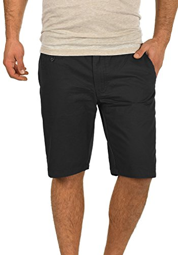 BLEND Sasuke Herren Chino Shorts kurze Hose, Größe:M;Farbe:Black (70155)