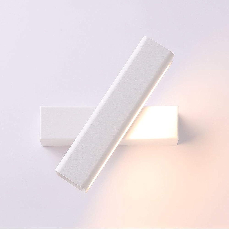 BAIF Wandleuchte Nachttisch Schlafzimmer Gang Dekorative Lichter knnen um 350 \u0026 deg; Beleuchtungswinkel Kreative Einfache Aluminium Einfache Moderne Lesende Nachttischlampe