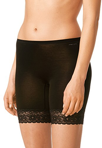 Mey Basics Lights Damen Leggings 88210- Gr. 38, Schwarz