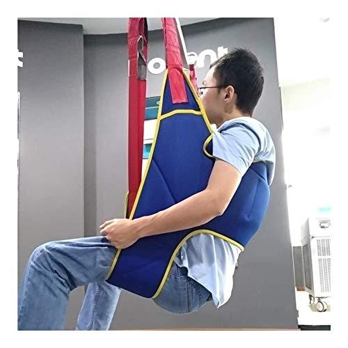 41iYrYDBgwL - Grúa de paciente portátil de transferencia de honda de la correa, en movimiento suave Assist alzamiento de la marcha del arnés del cinturón ajustado Heights de dispositivos, for la tercera edad, disca