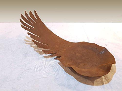 Schale - Engelsflügel Größe XL/60cm - Wunderschöner Deko-Artikel zu verwenden als Grabschmuck an Allerheiligen oder als Weihnachts-Deko - Deko-Artikel von Manufakt-Design