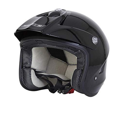 Preisvergleich Produktbild Spada Helm Edge-Trials Schwarz