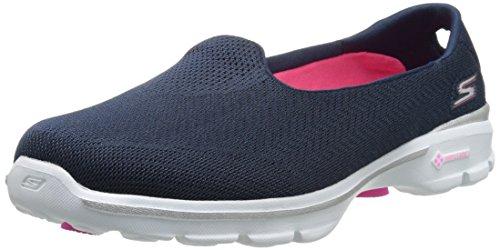 Skechers Performance Women's Go Walk 3 Insight Slip-On Walking Shoe,Navy,8.5 M US