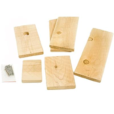 Songbird Essentials DIY Build A Birdhouse Chickadee Kit. Made of Cedar Wood. Great Project for Kids
