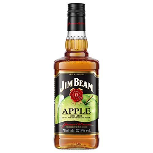 Jim Beam Bourbon Whisky con Licor de Manzana, 35%, 700ml