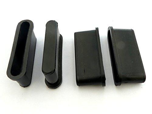 BOSSASHOP.de 10er Paket Einsteckkappen zur Befestigung von Leisten im Lattenrost (8x55mm (21,5mm Einstecktiefe))