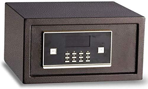 Schranktresore Tresore für Hausratversicherung Box Sicherheit Elektronischer LCD-Bildschirm Batteriebetriebener Wand-Schlüsselschrank Braun 33 36 19.5cm Safe