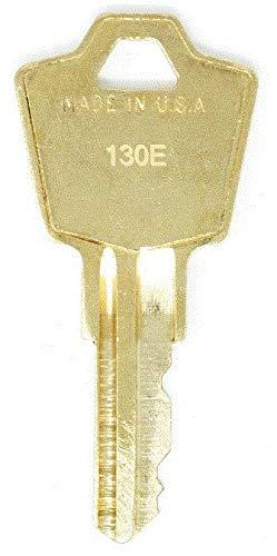 HON 130E File Cabinet Replacement Keys: 2 Keys