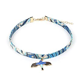 Cute with Attitude Japanese Style Choker with Pendants