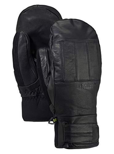 Burton Men's Gore-Tex Gondy Leather Mitt, True Black, Small