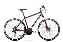 Romet ORKAN 4 M MTB Bike 28-calowy rower MTB Rower górski Crossbike Rower Shimano 27 biegów 19-calowy aluminiowa rama czarna