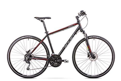 Romet ORKAN 4 M MTB Bike 28 Zoll MTB Fahrrad Mountain Bike Crossbike Fahrrad Shimano 27 Gang 19 Zoll Aluminium Rahmen schwarz