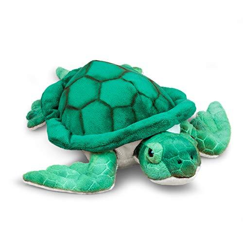 Animigos Plüschtier Schildkröte, Stofftier im realistischen Design, kuschelig weich, ca. 30 cm groß