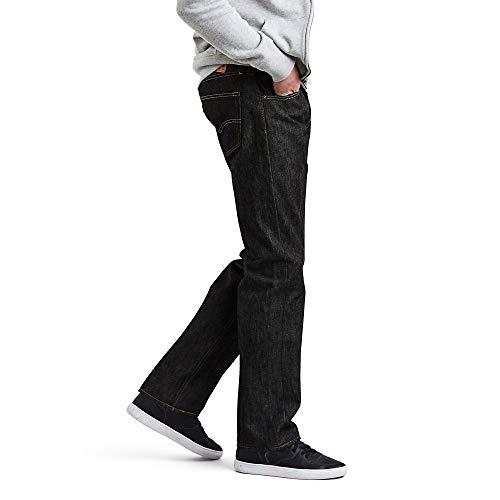 Levi's - 501 Original Fit Coupe-Droite jeans Black Stf W35/L34