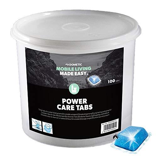 WAECO Dometic PowerCare Tabs 100 Stück WC Zusatz Power Care Thetford WC Neu Vorratseimer Eimer