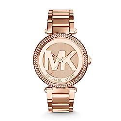 top rated Michael Kors Women's Parker Rose Gold MK5865 Watch 2021