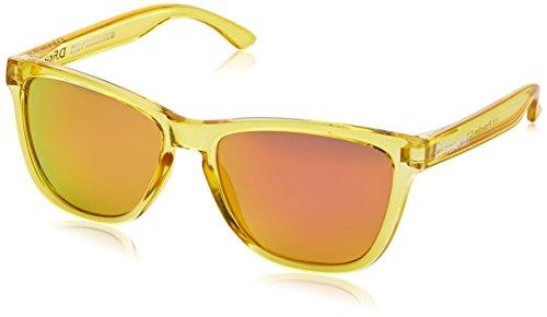 Gafas de pasta amarillas unisex