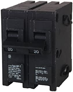 MP220 20-Amp Double Pole Type MP-T Circuit Breaker