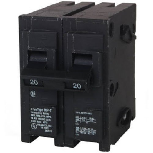 MP220 20-Amp Double Pole Type MP-T Circuit Breaker