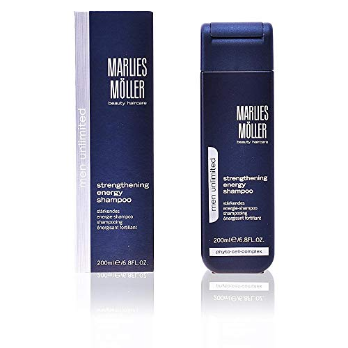 MARLIES MÖLLER Men Unlimited Strengthening Energy Shampoo, 1er Pack (1 x 200 ml)