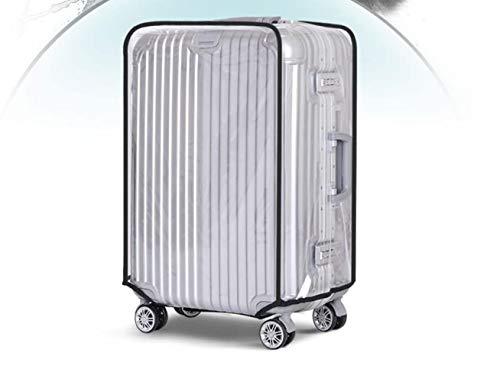 Voarge Copri Valigie, Luggage Protettore Bagaglio Suitcase Cover, Trasparente PVC Luggage Cover Anti-polvere Antigraffio per Viaggi (30'')