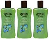 Hawaiian Tropic After Sun Gel Cooling Aloe - Gel After Sun de Aloe Vera para Piel Irritada por el Sol, Loción Refrescante Hipoalergénica y Dermatológicamente Probada, Pack 3 Unidades x 200 ml