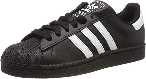 adidas Originals Superstar Foundation Herren Sneakers, B27140, Schwarz (Core Black/Ftwr White/Core Black), EU 45 1/3