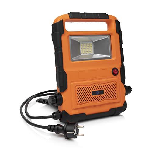 Smartwares Foco de construcción, naranja