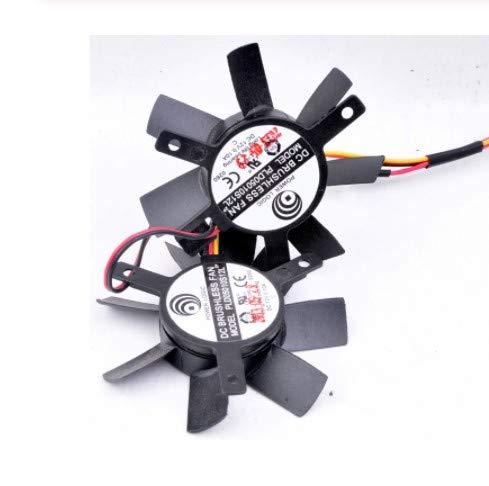 Cooling Fan PLA05010S12L,DC12V 0.10A graphics card cooler double fan