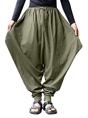 Wamvp Talla Grande Pantalones Cortos con Bolsillos Pantalones Pantalones para Hombres...