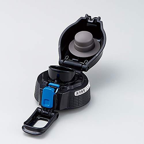 象印 (ZOJIRUSHI) クールボトルせんセット 水筒 直飲み スポーツタイプ ブルーストライプ SD-S10F-AJ
