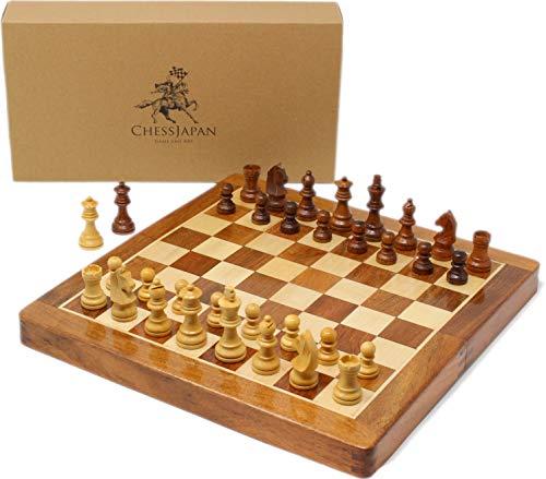 チェスジャパン 木製チェスセット オリジン 31cm 磁石付き