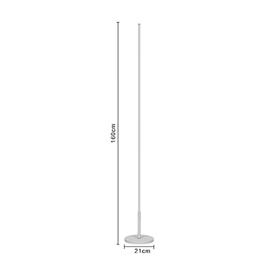Noble.Store Floor Lamp- Brushed Steel Lamp Oil Rubbed Bronze Fixture Uplight Lamp, Black/White Incandescent Lamp -36 Floor lamp (Color : B)